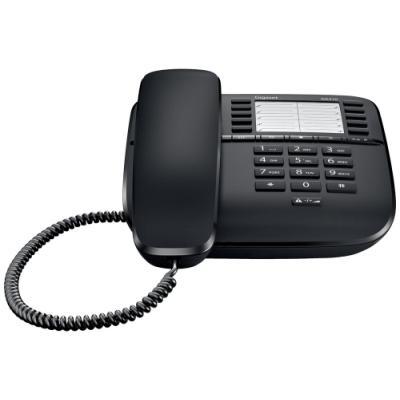 Standardní telefon Siemens GIGASET DA510 černý