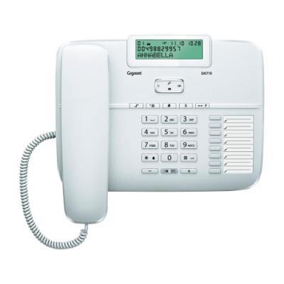 Standardní telefon Siemens GIGASET DA710 bílý