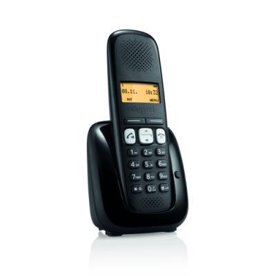 Bezdrátový telefon Siemens GIGASET A250 černý