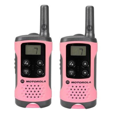Vysílačka Motorola TLKR T41 2ks růžová