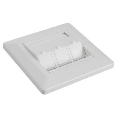 Datová zásuvka Solarix SX9-3-0-WH