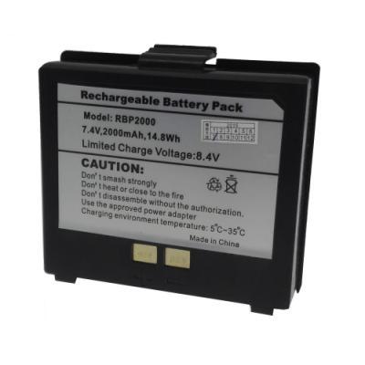 Baterie pro Cashino PTP-II, PTP-III 2000 mAh