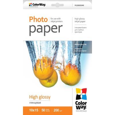 Fotopapír ColorWay High Glossy 10 x 15 50 ks