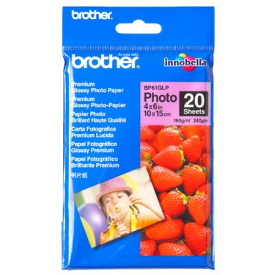 Fotopapír Brother BP61GLP