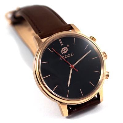 Chytré hodinky Deveroux SW9 zlaté