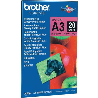 Fotopapír Brother Premium Glossy A3