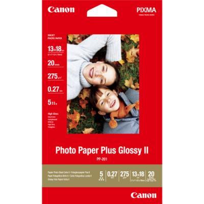 Fotopapír Canon Plus Glossy II PP-201 13 x 18 mm