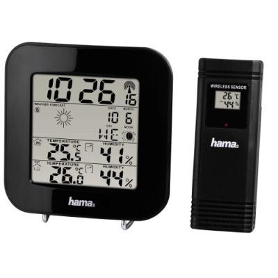 Meteostanice Hama EWS-200 černá
