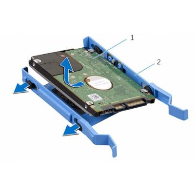 Rámeček Dell pro SATA HDD/SSD do PC OptiPlex/ Vost