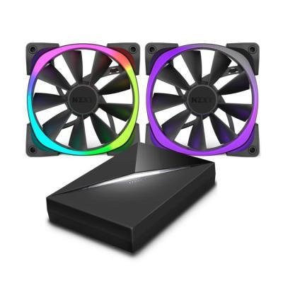 Ventilátor NZXT Aer RGB RF-AR140-C1 2ks + HUE+