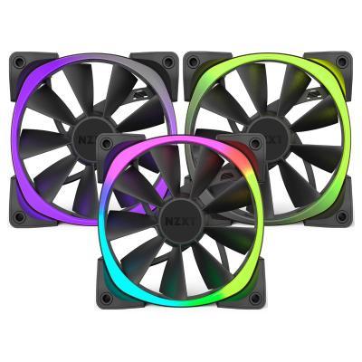 Ventilátor NZXT Aer RGB RF-AR140-T1 3ks