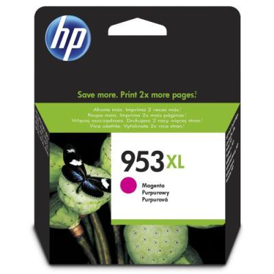 Inkoustová náplň HP 953XL (F6U17AE) červená