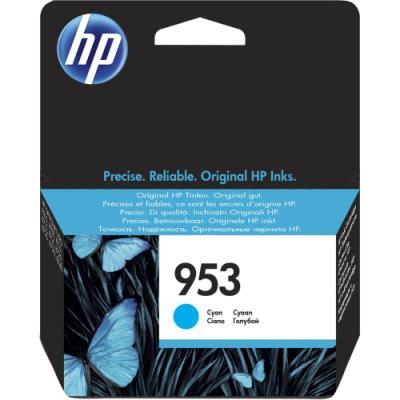 Inkoustová náplň HP 953 (F6U12AE) modrá