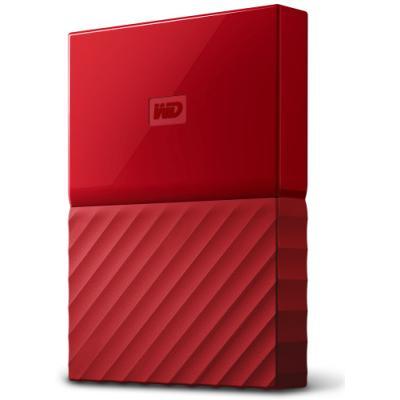 Pevný disk WD My Passport 1TB červený