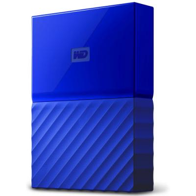 Pevný disk WD My Passport 4TB modrý