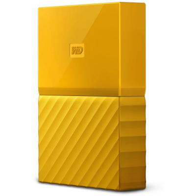Pevný disk WD My Passport 4TB žlutý