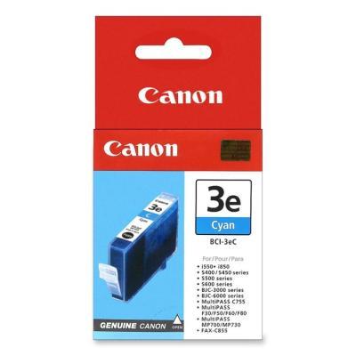 Inkoustová náplň Canon BCI-3eC modrá