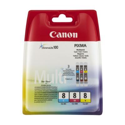 Inkoustová náplň Canon CLI-8CMY CMY
