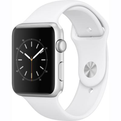 Chytré hodinky Apple Watch Series 1 42 mm stříbrné