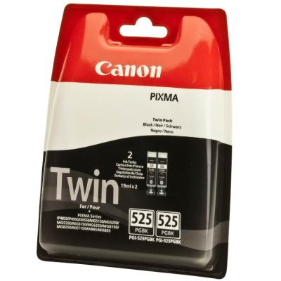 Inkoustová náplň Canon PGI-525Bk 2ks černá