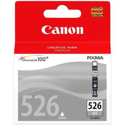 Inkoustová náplň Canon CLI-526GY šedá