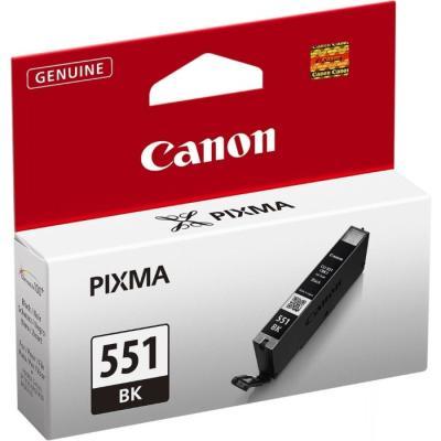 Inkoustová náplň Canon CLI-551Bk černá