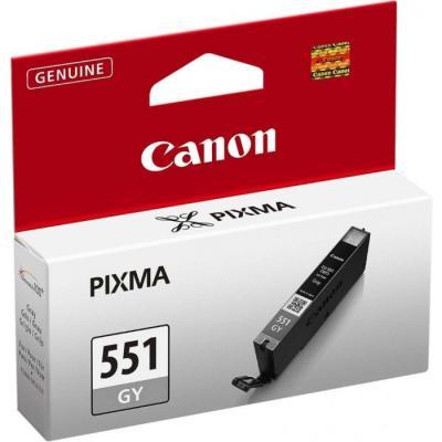 Inkoustová náplň Canon CLI-551 šedá
