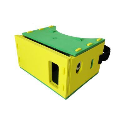 3D brýle PanoBoard Foam Edition VR žluto - zelené