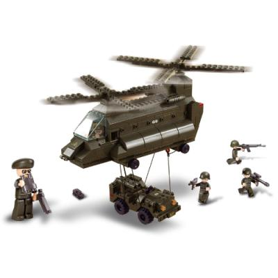 Stavebnice Sluban Přepravní vrtulník