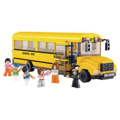 Stavebnice Sluban Školní autobus