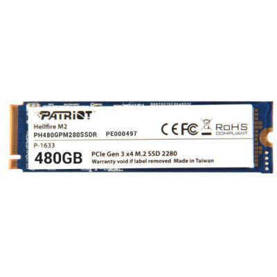 SSD disk Patriot HELLFIRE 480GB