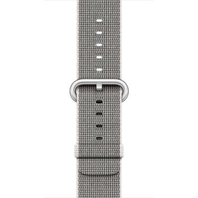 Řemínek Apple Woven Nylon 42 mm perlově šedý