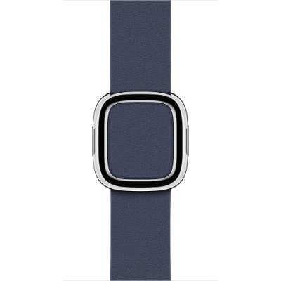 Řemínek Apple Modern Buckle 38 mm modrý S