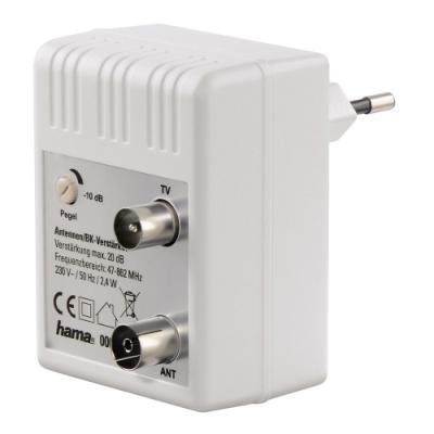 Televizní zesilovač Hama regulovatelný 20 dB
