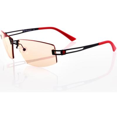 Brýle Arozzi VISIONE VX-600 černočervené