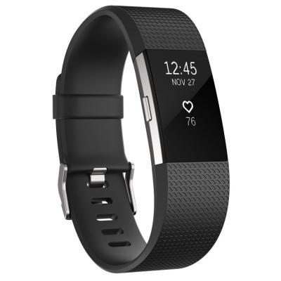 Fitness náramek Fitbit Charge 2 vel. S černý