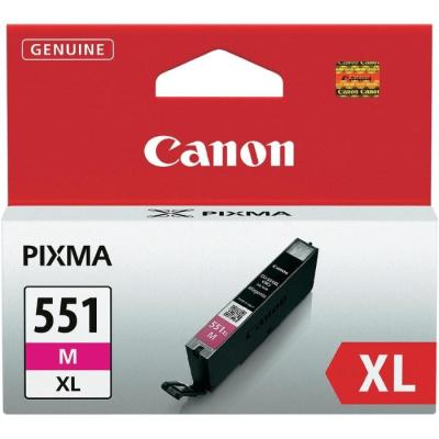 Inkoustová náplň Canon CLI-551M XL purpurová