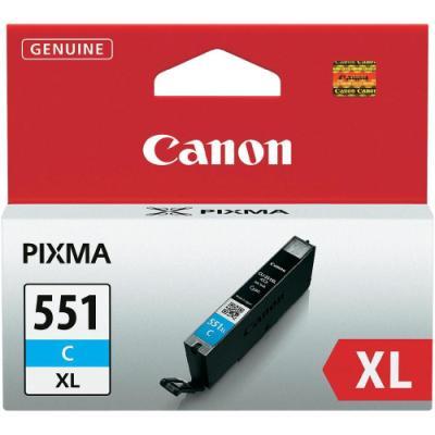 Inkoustová náplň Canon CLI-551XL modrá