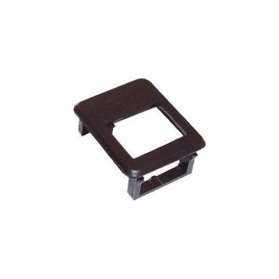 Rámeček Solarix pro keystone černý