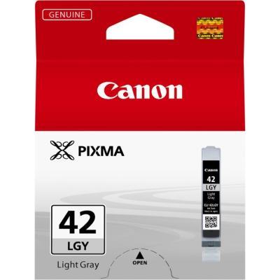 Inkoustová náplň Canon CLI-42LGY světle šedá