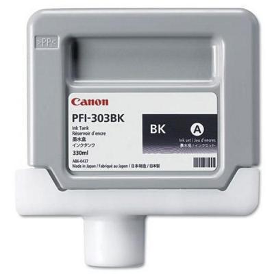 Inkoustová náplň Canon PFI-303BK černá