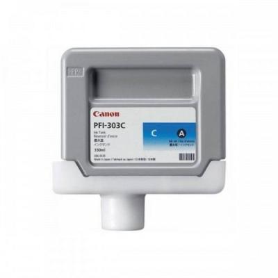 Inkoustová náplň Canon PFI-303C modrá