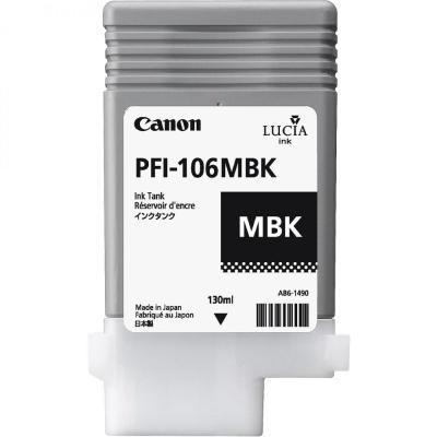 Inkoustová náplň Canon PFI-106MBK matná černá