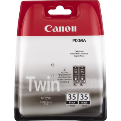 Inkoustová náplň Canon PGI-35Bk Twin pack černá