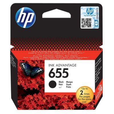 Inkoustová náplň HP 655 (CZ109AE) černá