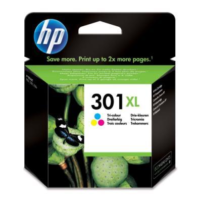 Inkoustová náplň HP 301XL (CH564EE) CMY