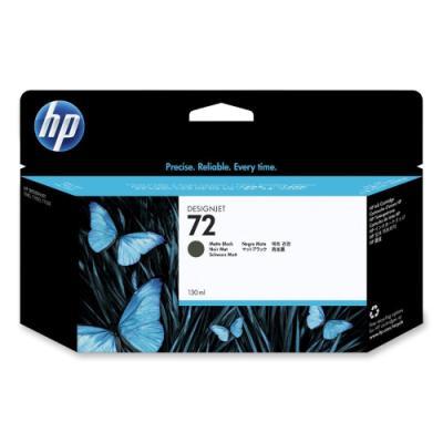 Inkoustová náplň HP 72 (C9403A) matná černá