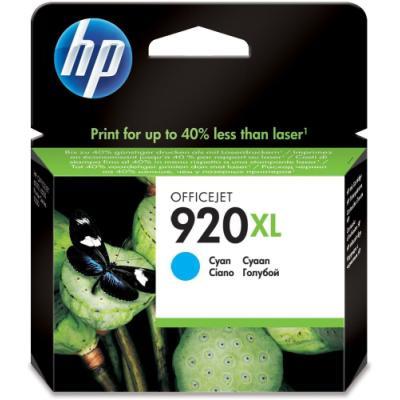 Inkoustová náplň HP 920XL (CD972AE) modrá