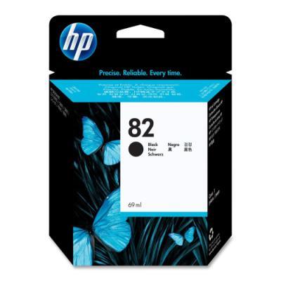 Inkoustová náplň HP 82 (CH565A) černá