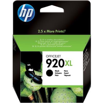 Inkoustová náplň HP 920XL (CD975AE) černá